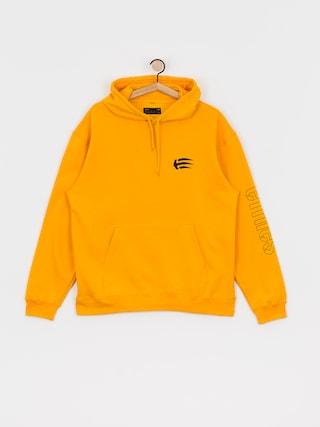 Mikina s kapucňou Etnies Joslin HD (yellow)