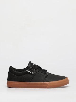 Topánky Supra Stacks Vulc II (black tuf lt gum)