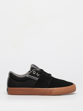 Topu00e1nky Supra Stacks Vulc II (black/grey gum)