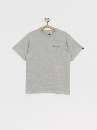 Tričko Emerica Pure Triangle (grey/heather)