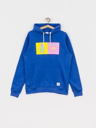 Mikina s kapucňou Tabasko Neon HD (blue)