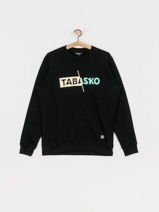 Mikina Tabasko Slash Crew (black)