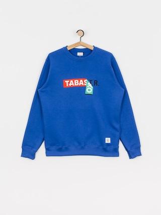 Mikina Tabasko Sticker Crew (blue)