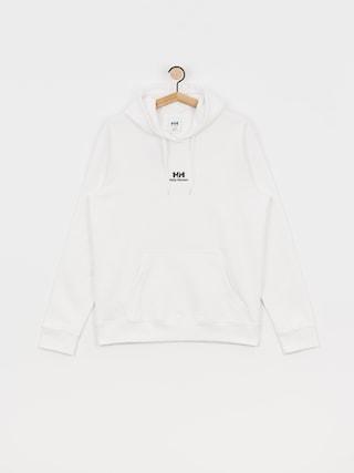 Mikina s kapucu0148ou Helly Hansen Logo HD (white)