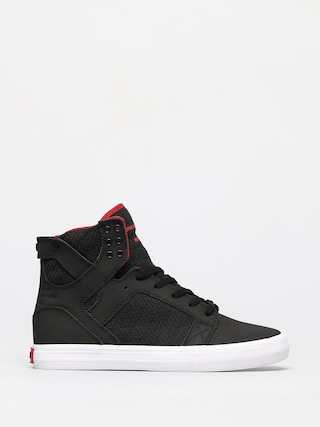 Topu00e1nky Supra Skytop (black red/white)