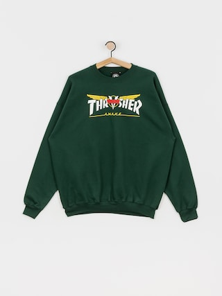 Mikina Thrasher Venture Collab (green)