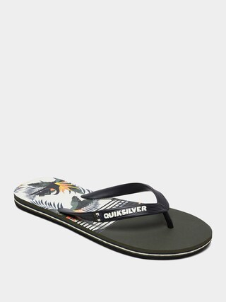 Plu00e1u017eovky Quiksilver Molokai Jungle Swell (black/white/black)