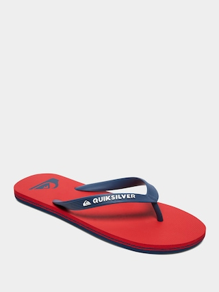 Plu00e1u017eovky Quiksilver Molokai (red/blue/red)
