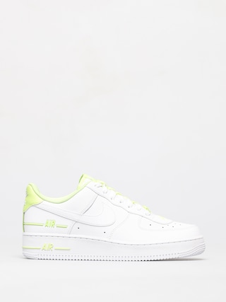 Topu00e1nky Nike Air Force 1 07 (white/white barely volt)