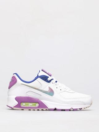 Topu00e1nky Nike Air Max 90 Se Wmn (white/multi color purple nebula)