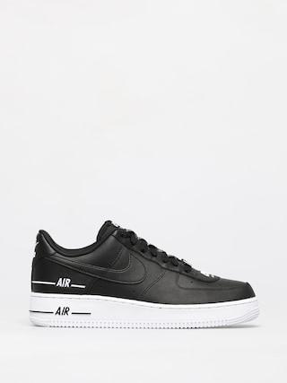 Topu00e1nky Nike Air Force 1 07 (black/black white)