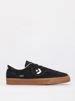 Topu00e1nky Converse Louie Lopez Pro Ox (black/white/gum)