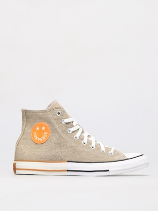 Tenisky Converse Chuck Taylor All Star Hi (khaki/total orange/white)