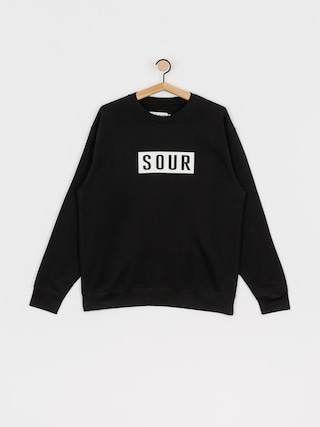 Mikina Sour Solution Sour Patch Crew (black)