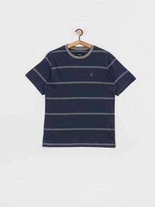 Tričko Brixton Hilt Stnd Fit Knit (washed navy/heather grey)