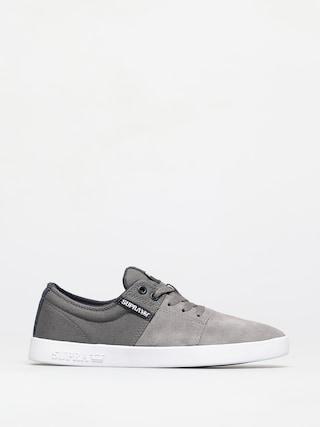 Topánky Supra Stacks II (grey/navy white)