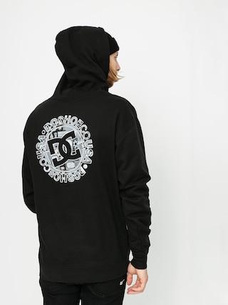 Mikina s kapucňou DC Wes Kremer Seal Logo HD (black)