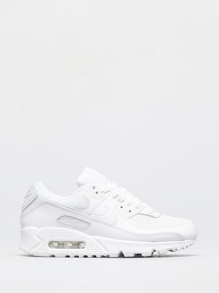 Topu00e1nky Nike Air Max 90 Wmn (white/white white wolf grey)