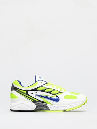 Topu00e1nky Nike Air Ghost Racer (white/hyper blue neon yellow black)