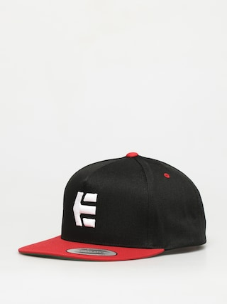 u0160iltovka Etnies Icon Snapback ZD (black/red)