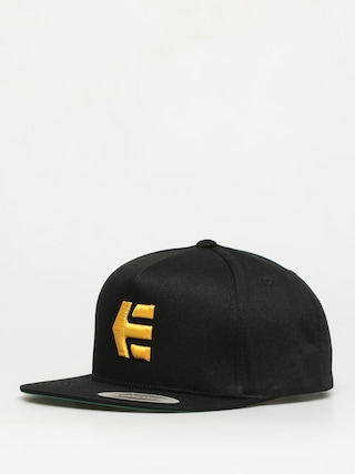 u0160iltovka Etnies Icon Snapback ZD (black/yellow)