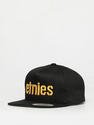 u0160iltovka Etnies Corp Snapback ZD (black/yellow)