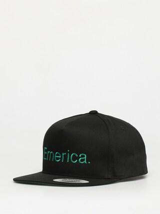 u0160iltovka Emerica Pure Snapback ZD (black/green)