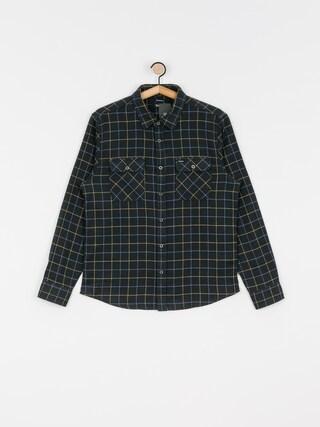 Kou0161eu013ea Brixton Bowery Flannel Ls (washed black/blue)