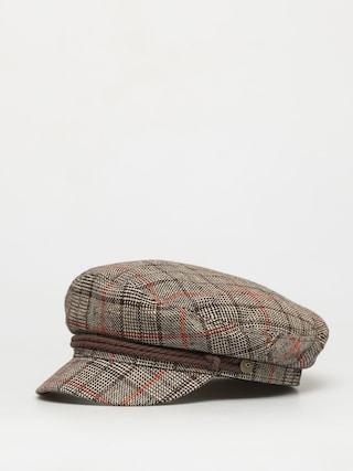 Klobúk so šiltom Brixton Fiddler Cap (dark brown)
