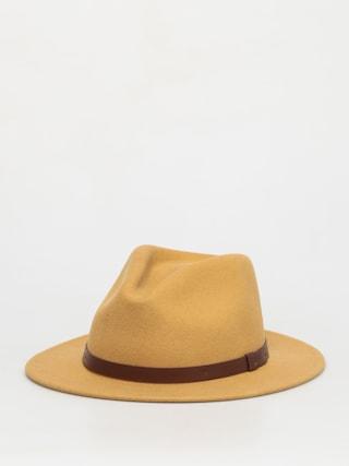 Klobúk Brixton Messer Fedora (honey)