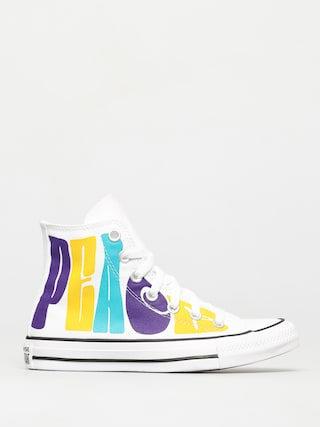 Tenisky Converse Chuck Taylor All Star Hi (white/court purple/amarillo)