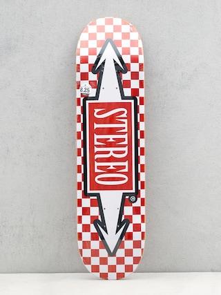 Doska Stereo Check Arrows (red/white)