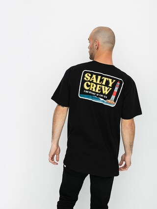 Tričko Salty Crew Point Loma (black)