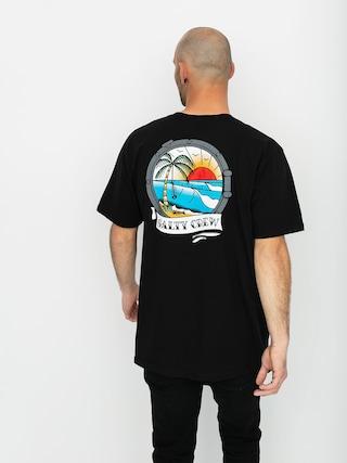 Tričko Salty Crew Portside (black)