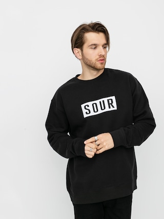 Mikina Sour Solution Sour Patch Crew (black)