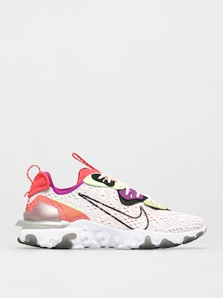 Topu00e1nky Nike React Vision (summit white/black barely volt)