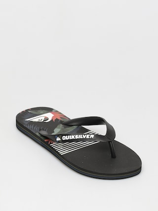 Plu00e1u017eovky Quiksilver Molokai Jungle Swell (black/grey/black)