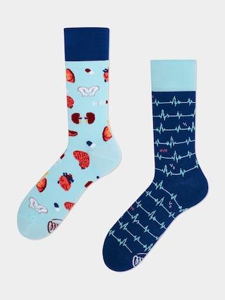 Ponožky Many Mornings Dr Sock (blue/navy)