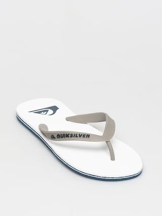 Plu00e1u017eovky Quiksilver Molokai (grey/grey/white)
