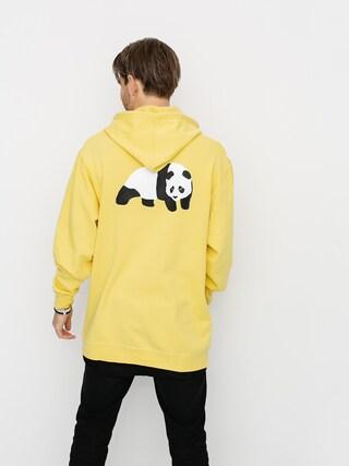 Mikina s kapucňou Enjoi Premium Panda HD (yellow)