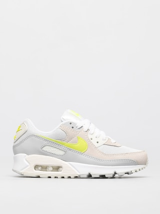 Topu00e1nky Nike Air Max 90 Wmn (white/lemon venom pure platinum sail)