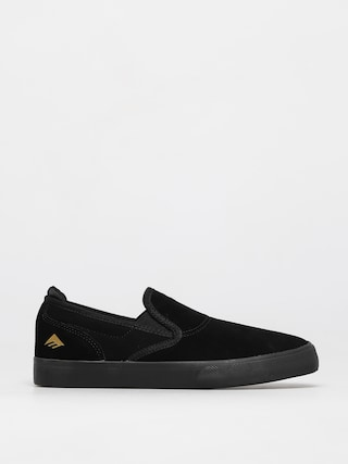 Topu00e1nky Emerica Wino G6 Slip On Youth (black/black)