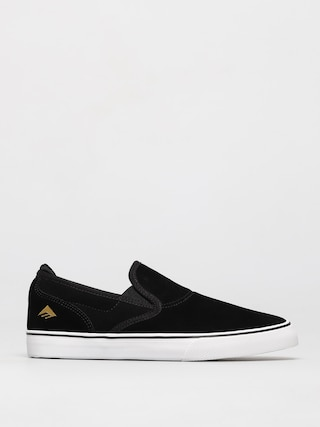Topu00e1nky Emerica Wino G6 Slip On Youth (black/white/gold)