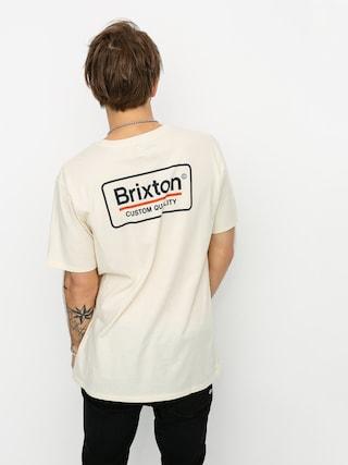Tričko Brixton Palmer Prem (dove)
