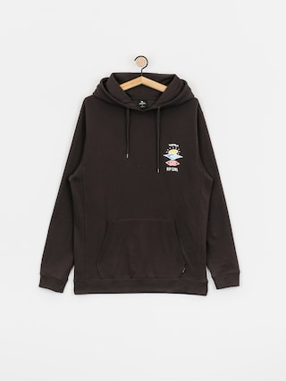Mikina s kapucňou Rip Curl Search Icon HD (washed black)