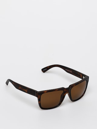 Slneu010dnu00e9 okuliare Quiksilver Bruiser Polarized (matte tor/bro po)