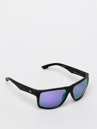 Slneu010dnu00e9 okuliare Quiksilver Transmission (matte tor blk/ml p)