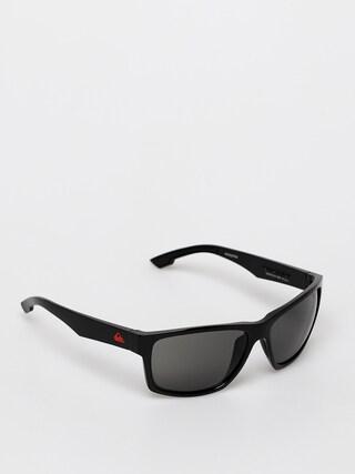 Slneu010dnu00e9 okuliare Quiksilver Trailway (shiny black/grey)