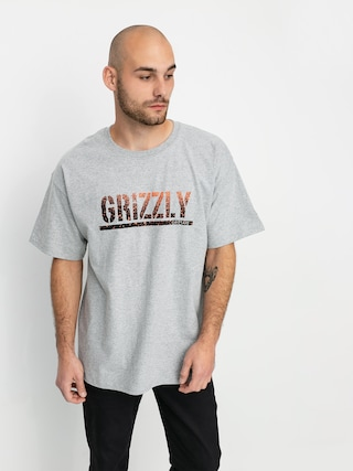 Triu010dko Grizzly Griptape X Champion Stamp Fadeaway (grey heather)
