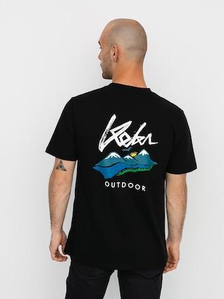 Tričko Koka Outdoor (black)